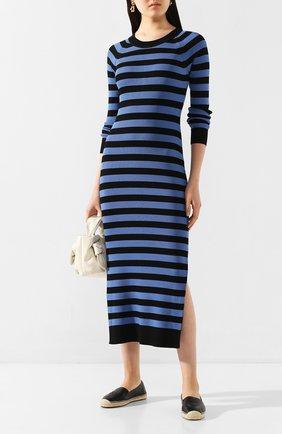 Женское платье из вискозы MICHAEL MICHAEL KORS синего цвета, арт. MH98ZBPBVC | Фото 2