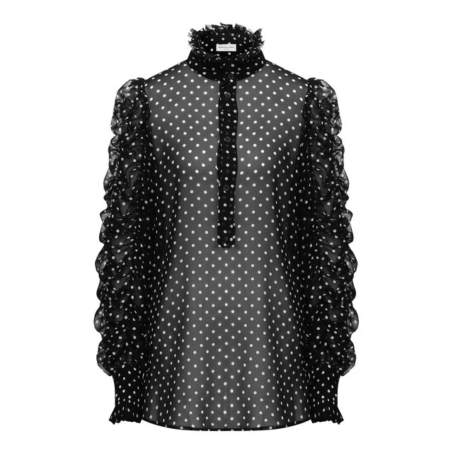 Шелковая блузка Dries Van Noten