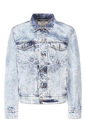Женская джинсовая куртка RAG&BONE голубого цвета, арт. WDD20S1412B1RE | Фото 1