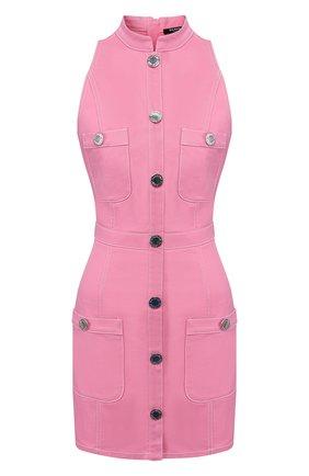 Женское джинсовое платье BALMAIN розового цвета, арт. TF06072/D022 | Фото 1