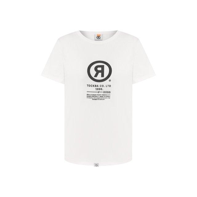 Хлопковая футболка Toskva