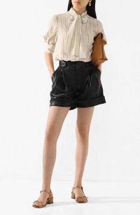 Кожаные шорты | Фото №2