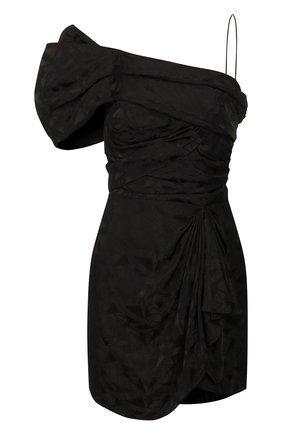 Женское платье из вискозы ISABEL MARANT черного цвета, арт. R01740-20E051I/VETRAE | Фото 1