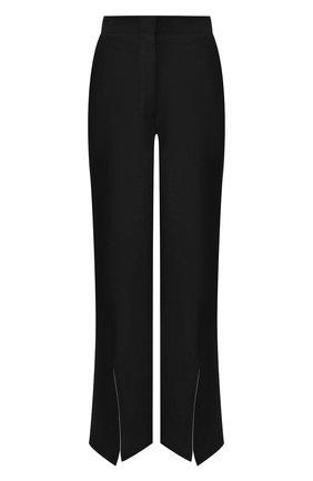 Женские льняные брюки LOEWE черного цвета, арт. S2102180FH | Фото 1