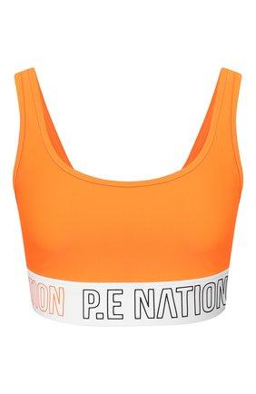Женская топ P.E. NATION оранжевого цвета, арт. 19PE4C006-2 | Фото 1