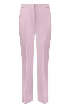 Женские шерстяные брюки STELLA MCCARTNEY сиреневого цвета, арт. 529866/SNB48   Фото 1