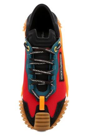 Мужские комбинированные кеды ns1 DOLCE & GABBANA разноцветного цвета, арт. CS1768/AJ955 | Фото 5