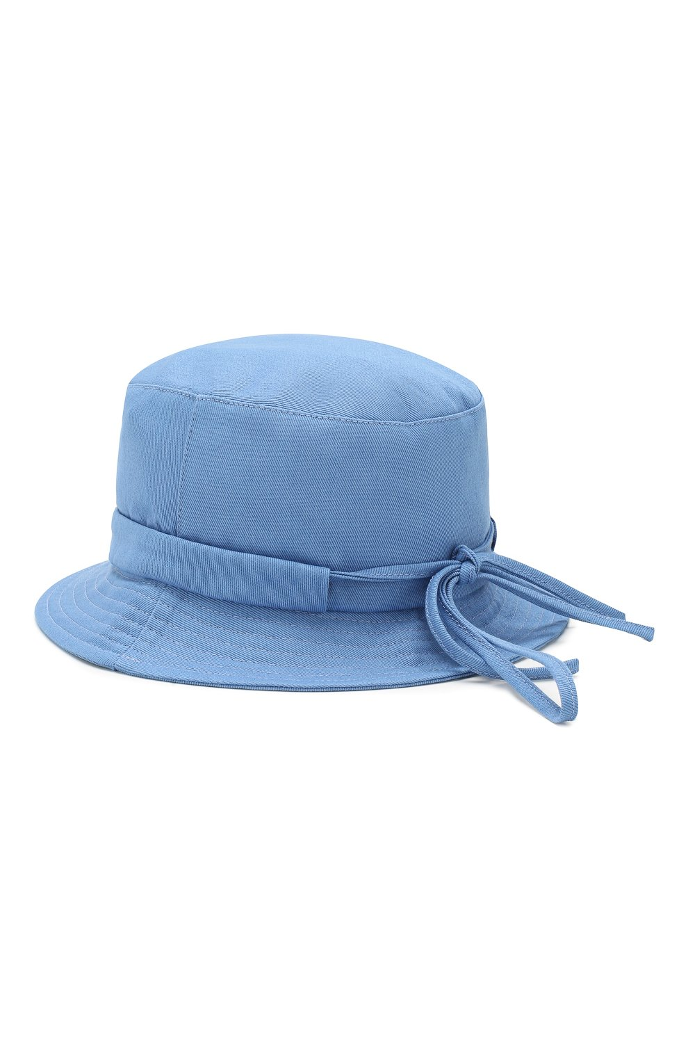 Мужская панама le bob gadjo JACQUEMUS голубого цвета, арт. 205AC03/69320 | Фото 2
