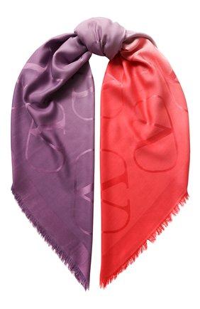 Платок Valentino Garavani из смеси шелка и кашемира | Фото №1