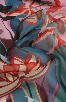 Мужские шелковый шарф valentino garavani VALENTINO розового цвета, арт. TW0EA018/AWP | Фото 2