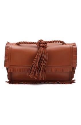 Женская сумка valentino garavani the rope medium VALENTINO коричневого цвета, арт. TW0B0G74/JMS | Фото 1