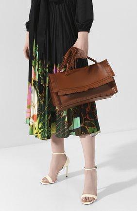 Женская сумка valentino garavani the rope medium VALENTINO коричневого цвета, арт. TW0B0G74/JMS | Фото 2
