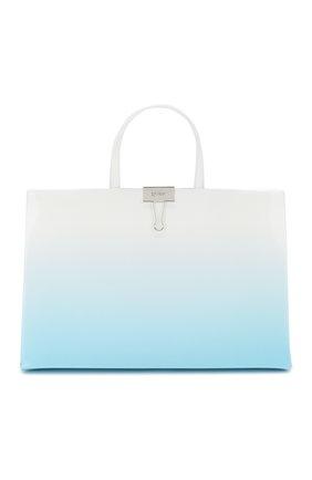 Женская сумка box medium OFF-WHITE голубого цвета, арт. 0WNA058R20G990683100 | Фото 1