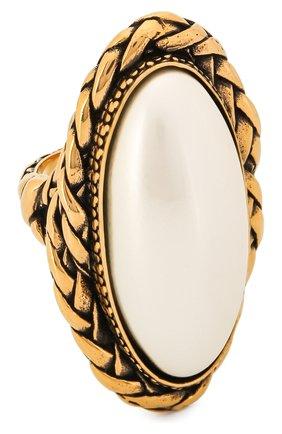 Женское кольцо ALEXANDER MCQUEEN золотого цвета, арт. 621758/J160K | Фото 1