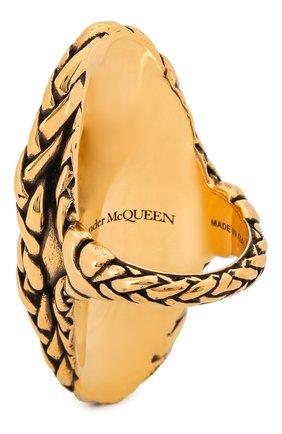 Женское кольцо ALEXANDER MCQUEEN золотого цвета, арт. 621758/J160K | Фото 2
