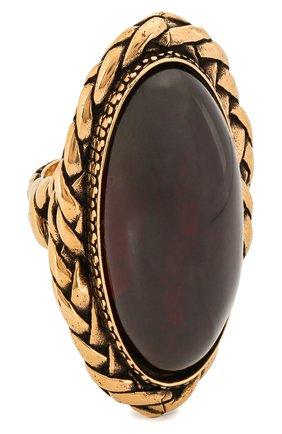 Женское кольцо ALEXANDER MCQUEEN бордового цвета, арт. 621758/J160T | Фото 1