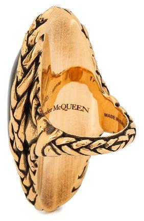 Женское кольцо ALEXANDER MCQUEEN бордового цвета, арт. 621758/J160T | Фото 2