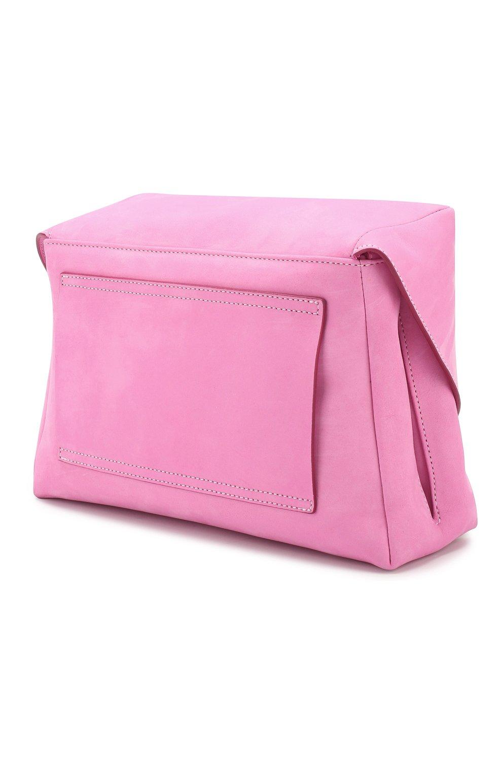 Женская поясная сумка le sac manosque JACQUEMUS розового цвета, арт. 201BA18/61400   Фото 3