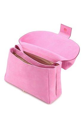 Женская поясная сумка le sac manosque JACQUEMUS розового цвета, арт. 201BA18/61400   Фото 4