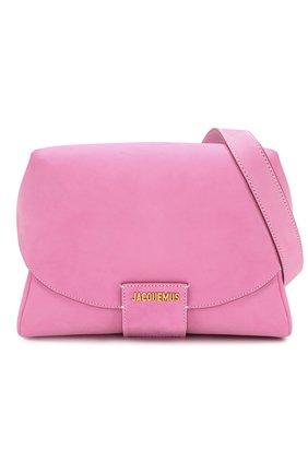 Женская поясная сумка le sac manosque JACQUEMUS розового цвета, арт. 201BA18/61400   Фото 6