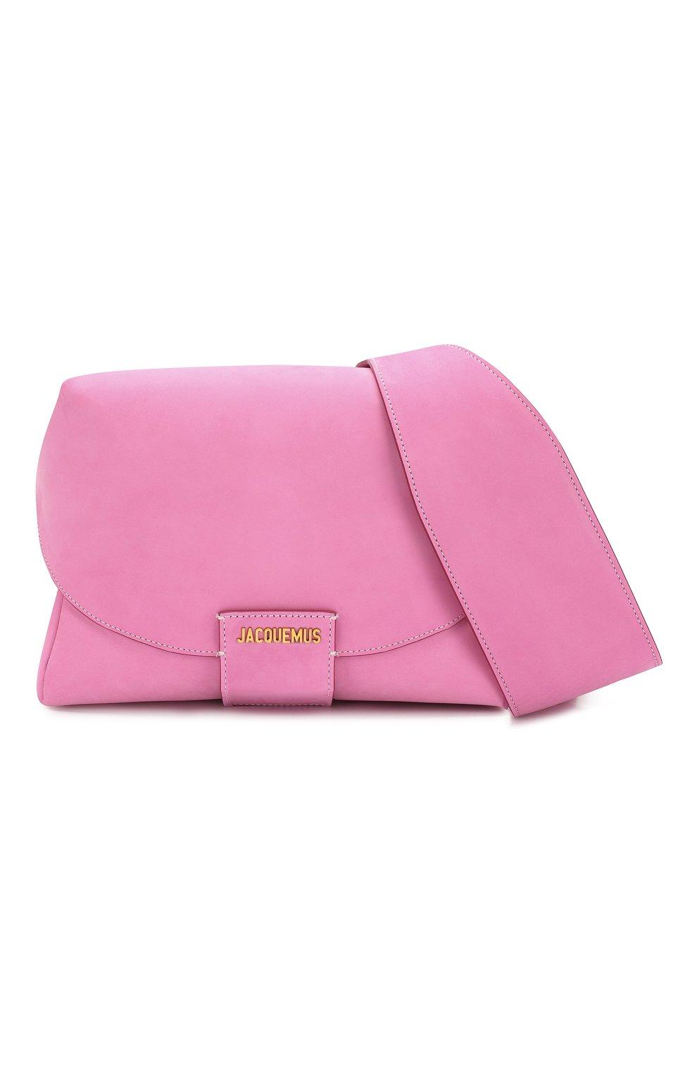 Женская поясная сумка le sac manosque JACQUEMUS розового цвета, арт. 201BA18/61400   Фото 7
