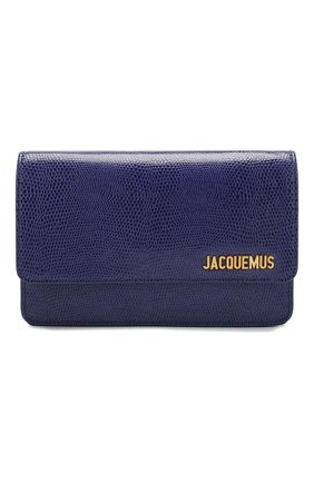 Женская сумка le riviera JACQUEMUS голубого цвета, арт. 201BA04/63350   Фото 1