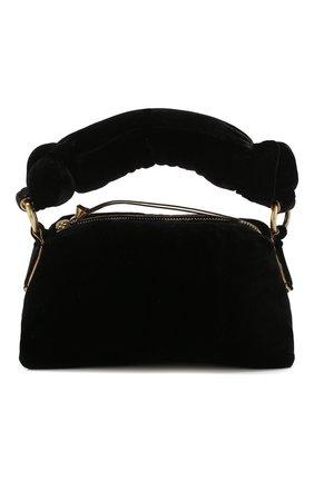 Женская сумка DRIES VAN NOTEN черного цвета, арт. 201-11500-654 | Фото 1