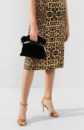Женская сумка DRIES VAN NOTEN черного цвета, арт. 201-11500-654 | Фото 2