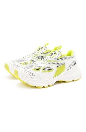 Женские комбинированные кроссовки marathon AXEL ARIGATO желтого цвета, арт. 93037 | Фото 1