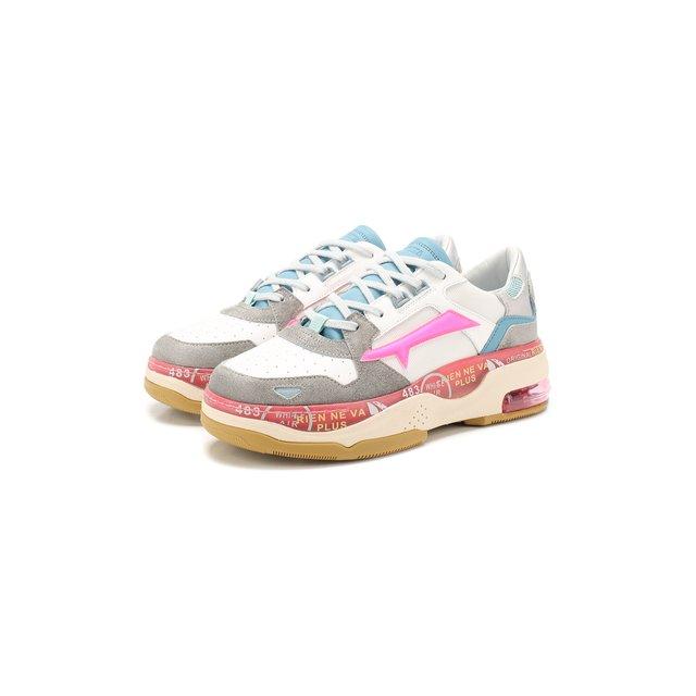 Комбинированные кроссовки Premiata — Комбинированные кроссовки