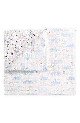 Детского хлопковое одеяло ADEN+ANAIS белого цвета, арт. ADMC10001HP | Фото 1