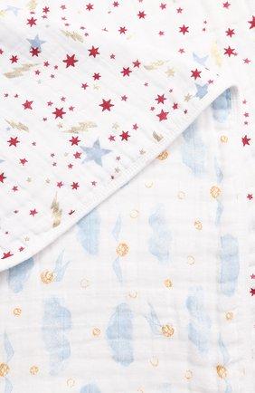 Детского хлопковое одеяло ADEN+ANAIS белого цвета, арт. ADMC10001HP | Фото 2