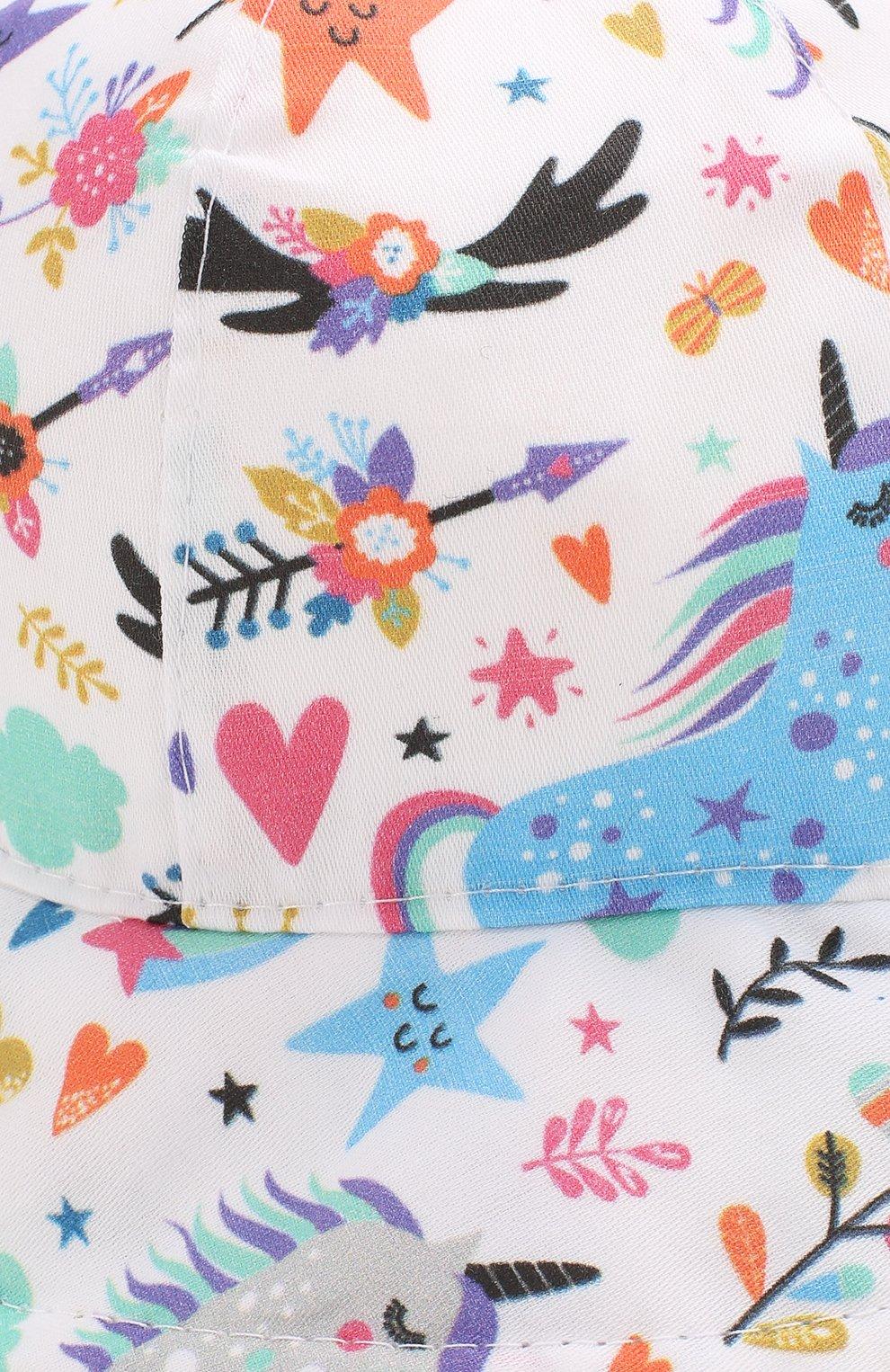 Детская панама CATYA разноцветного цвета, арт. 014060   Фото 3
