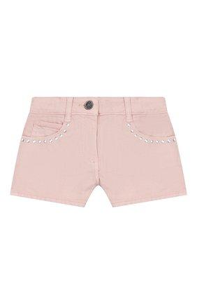 Детские джинсовые шорты DOUUOD розового цвета, арт. 20E/U/JR/PC03/1048/4A-8A | Фото 1