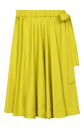 Детская юбка UNLABEL салатового цвета, арт. PANSY-1/21-IN004-B/8A-10A | Фото 1