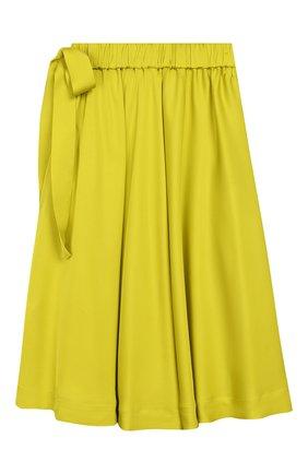 Детская юбка UNLABEL салатового цвета, арт. PANSY-1/21-IN004-B/8A-10A | Фото 2