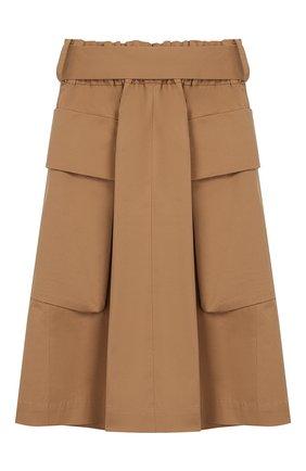 Детская хлопковая юбка UNLABEL бежевого цвета, арт. LIM0NIUM-2/24-IN005/12A-16A | Фото 2