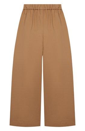 Детского хлопковые брюки UNLABEL бежевого цвета, арт. CL0VER-1/28-IN003/12A-16A | Фото 2