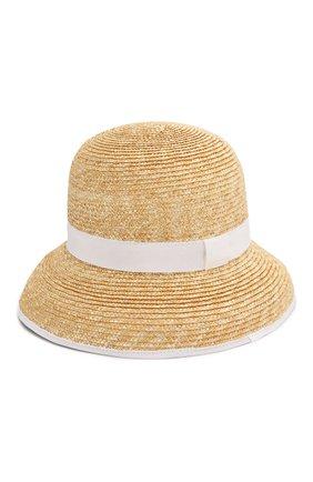 Детская соломенная шляпа IL GUFO белого цвета, арт. P20E0282EA301 | Фото 2