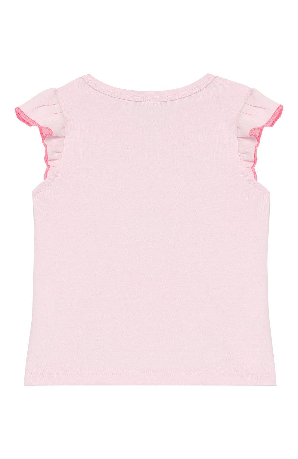 Детский комплект из 3-х предметов KENZO розового цвета, арт. KQ99003   Фото 3