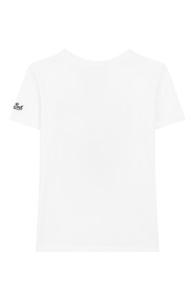 Детская хлопковая футболка MC2 SAINT BARTH белого цвета, арт. STBK FLYNN/FLY0001 | Фото 2
