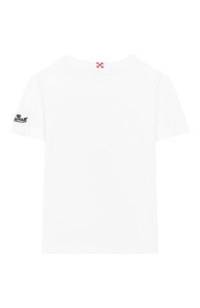 Детская хлопковая футболка MC2 SAINT BARTH белого цвета, арт. STBK TSHIRT B0Y/TSH0001 | Фото 2