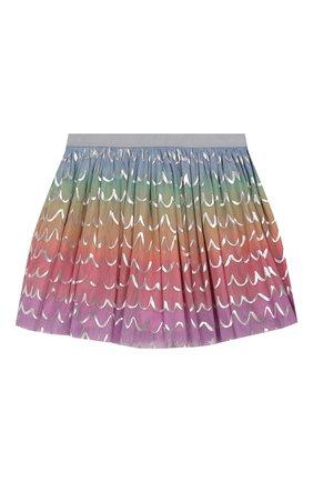 Детская юбка STELLA MCCARTNEY разноцветного цвета, арт. 588555/S0KE1 | Фото 1