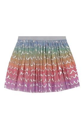 Детская юбка STELLA MCCARTNEY разноцветного цвета, арт. 588555/S0KE1 | Фото 2