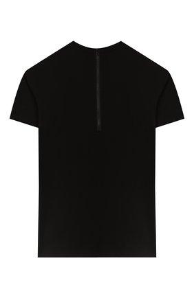 Детское хлопковое платье STELLA MCCARTNEY черного цвета, арт. 588668/S0JC2 | Фото 2