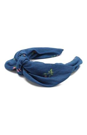 Детского ободок PHILOSOPHY DI LORENZO SERAFINI KIDS синего цвета, арт. PJAV04/LC76/VH011 | Фото 2