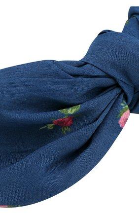 Детского ободок PHILOSOPHY DI LORENZO SERAFINI KIDS синего цвета, арт. PJAV04/LC76/VH011   Фото 3