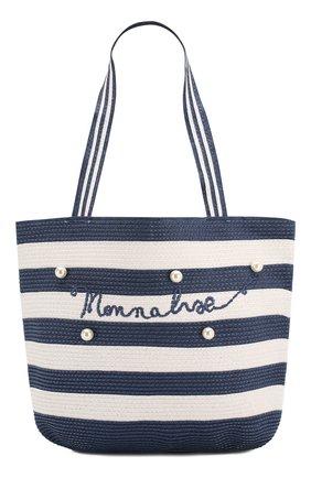 Детская сумка MONNALISA синего цвета, арт. 995033 | Фото 1