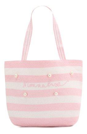 Детская сумка MONNALISA розового цвета, арт. 995033 | Фото 1