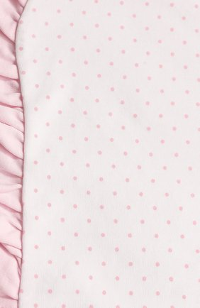 Детского хлопковое одеяло MAGNOLIA BABY розового цвета, арт. 755-62-PK   Фото 2